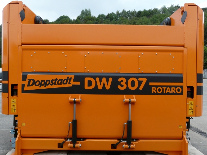Shredder DF 307 Rotaro Fine Shredder