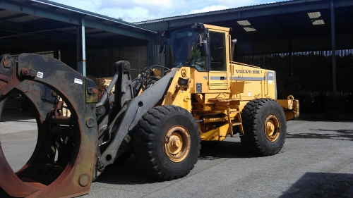 Volvo L150 Loading shovel - Volvo BM Front End Loader