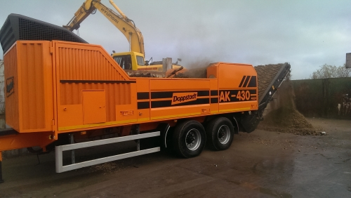 AK 430 Profi Doppstadt Shredder photo
