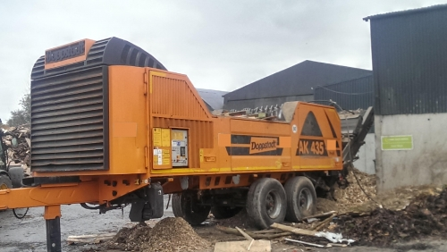Doppstadt AK 435 Profi Shredder photo