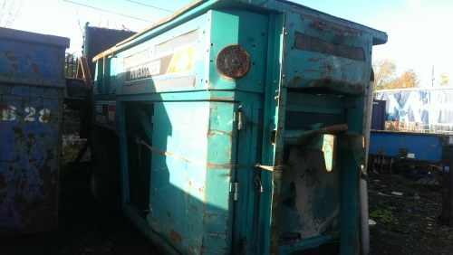 Powerscreen Power Shredder 1800 Slow Speed Shredder photo